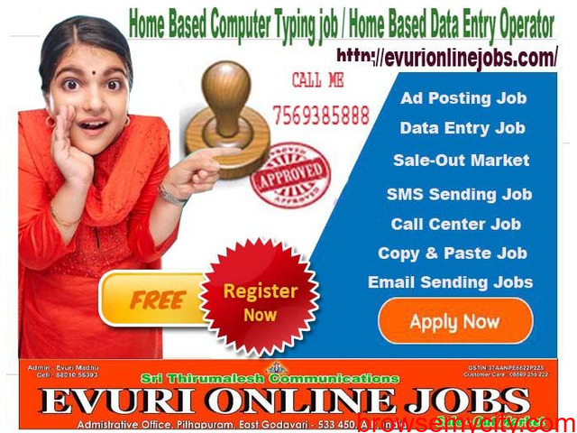 Part Time Home Based Jobs - 1/4