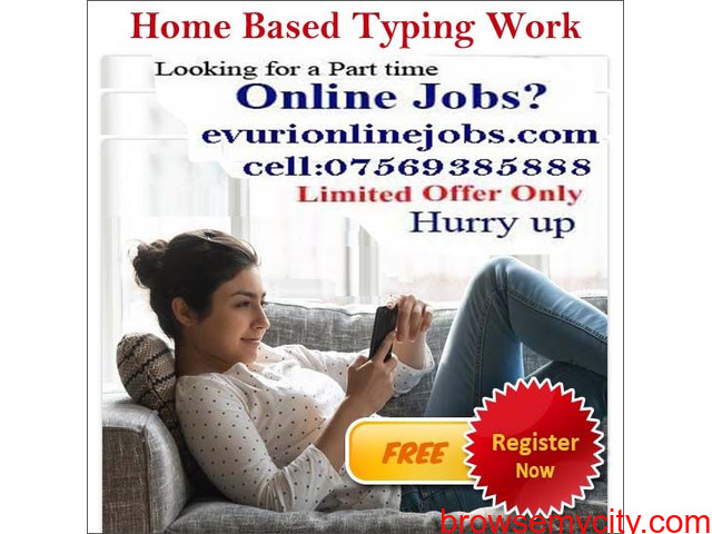 Part Time Home Based Jobs - 2/4