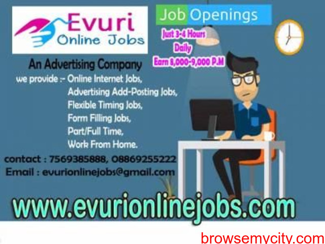 Part Time Home Based Jobs - 3/4