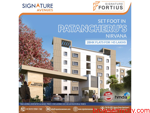 House For Sale In Isnapur | Signature Avenues - 1/1