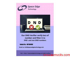One of the Best DND Verifier service provider in India.