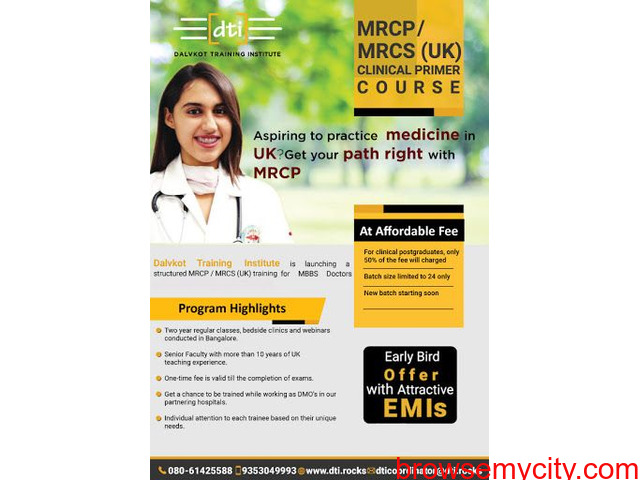 MRCP, MRCS Clinical Primer Course in Bangalore - 2/3