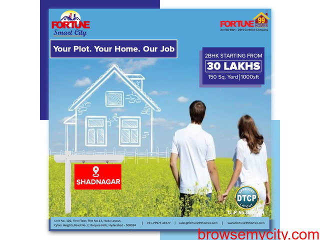 DTCP Plots for sale in Srisailam HighWay - 1/1