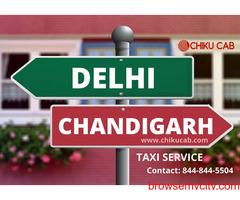 Get 25% OFF on Delhi to Chandigarh Cab Service