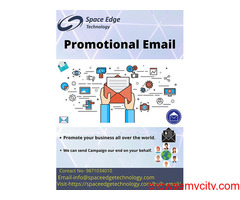 We provide you the Best Promotional Email service in India