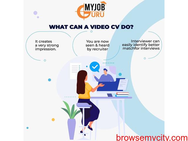 Online Video Interview - Live Interview - Campus Interview   MyJobGuru - 1/4