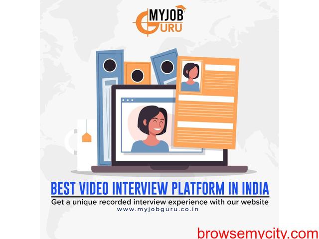 Online Video Interview - Live Interview - Campus Interview   MyJobGuru - 2/4