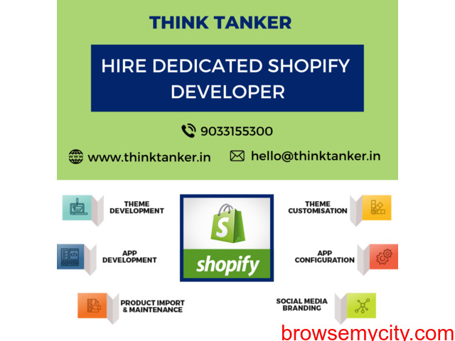 Hire Top Shopify Expert USA - ThinkTanker - 1/1