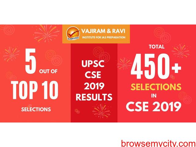 Vajiram & Ravi – Best IAS coaching in Delhi - 1/6