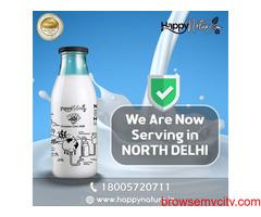 Pure Farm Fresh Gir Cow A2 Milk near you.