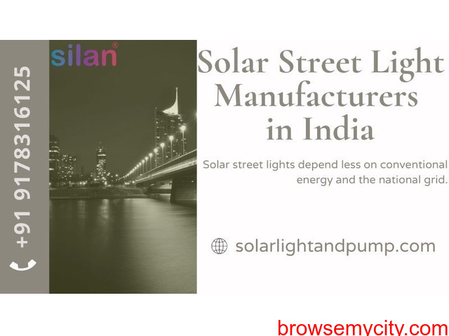 Solar Street Light Manufacturers in India - 1/1