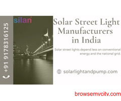 Solar Street Light Manufacturers in India