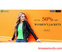 Up to 50% off Women's Jackets