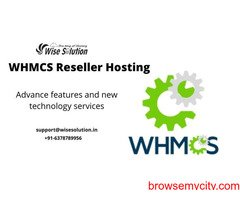 Best Whmcs Reseller Hosting Provider in India - Wisesolution