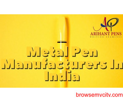 Metal Pen Manufacturers In India