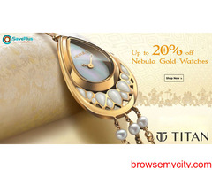 Up to 20% off Nebula Gold Watches