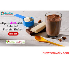 Up to 45% Off Selected Protein Shakes