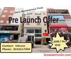 Pre-Launch offer on Residential Flats at NIZAMPET Main road facing Apartment, Hyderabad.
