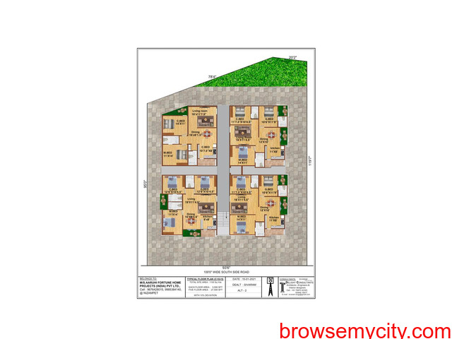 Pre-Launch offer on Residential Flats at NIZAMPET Main road facing Apartment, Hyderabad. - 3/3