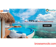 Up to 75% off Maldives Hotel Bookings