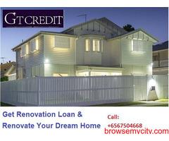 Renovation loans Singapore