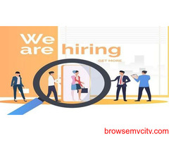 We have requirements of sales and marketing executives