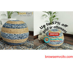 Get Up to 57% off on Poufs/ottomans