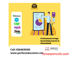 Professional Foreign Accounting Course in Ahmedabad