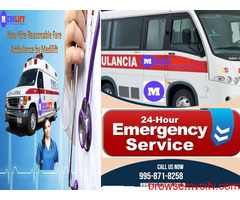 Select the Highly Setups Ambulance Service in Kumhrar