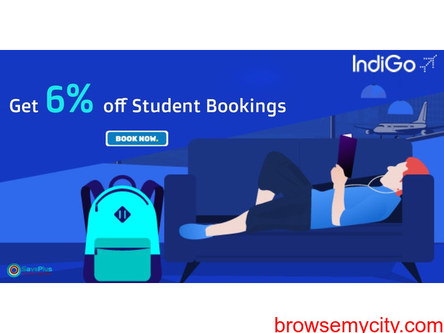 Get 6% off Student Bookings - 1/1