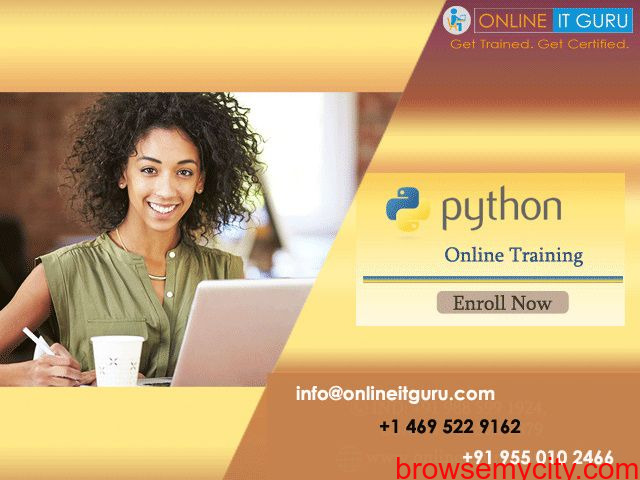 Python Online Training Free live demo - 1/1