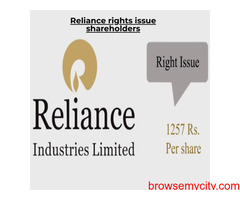 Why you should make Reliance rights shareholder