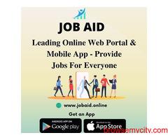 Best App to Find Latest Job Vacancy Online - JOB AID
