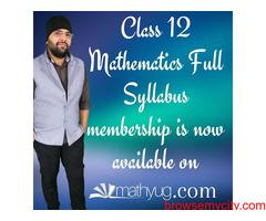 Full Syllabus of Class 12 Maths