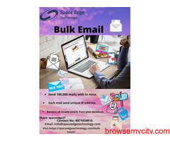 One of The Best Bulk Email service provider in India.