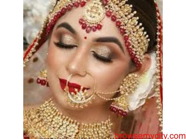 Best Bridal Makeup in Patna Bride and Groom Makeup - 3/3