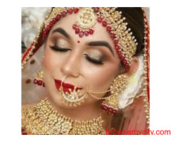 Best Bridal Makeup in Patna Bride and Groom Makeup