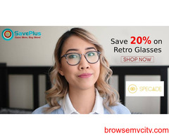 Specade Coupons, Deals & Offers: Save 20% on Retro Glasses