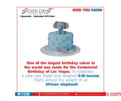 Special cakes in Vijayawada