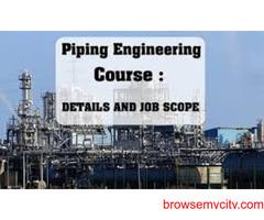 Post Graduate Diploma In Piping Engineering