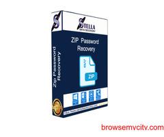 Zip file password recovery