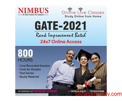 New batch for GATE online coaching
