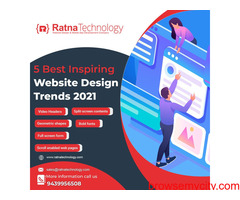 Get handcrafted web design services with Ratna Technology