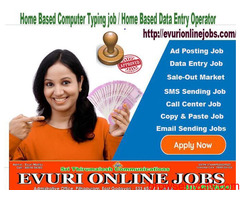 Home Based Data Entry Typing Jobs