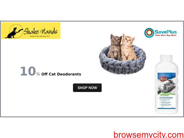 10% Off Cat Deodorants - 1/1