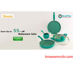 Save Up to 55% off Bakeware Sets