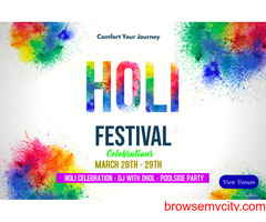 Vrindavan Holi Packages | Best Holi Packages 2021