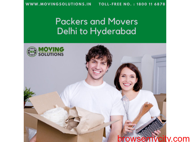 Packers and Movers from Delhi to Hyderabad - 1/1