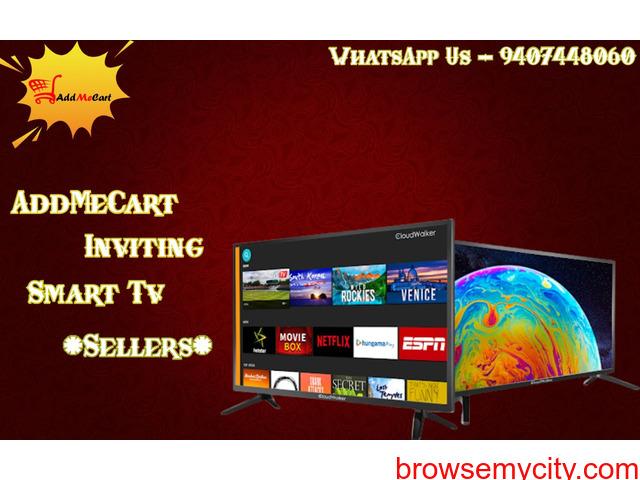 AddMeCart Inviting Smart TV Sellers - 1/1