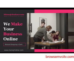 Make Your Business Online Smarter and Result - Oriented With Web Designing